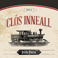 Clós Inneall Whiskey Label