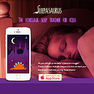 Sleepasaurus - Dinosaur Sleep Trainer For Kids